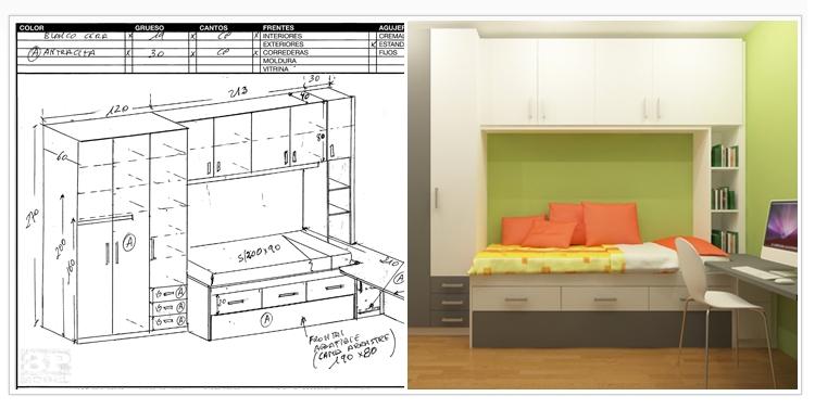 Disea tu habitacin perfect habitacin temtica infantil for Medidas de un escritorio